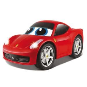 BB Junior fjernstyret bil - Ferrari - Rød