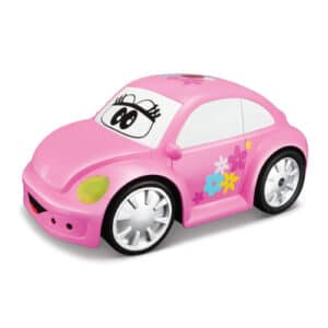 BB Junior fjernstyret bil - Volkswagen - Lyserød