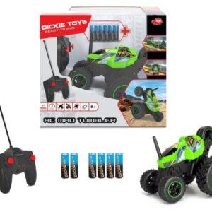 Dickie Toys - Fjernstyret Off-roader Bil - Rc Mad Tumbler - Neon Grøn