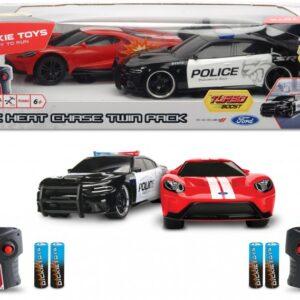 Dickie Toys - Fjernstyret Rc Bil Sæt Til Børn - 1:16 - 2-pak