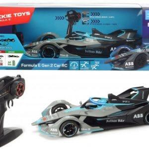 Dickie Toys - Fjernstyret Rc Bil Til Børn - Formula E Gen 2