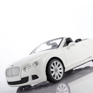 Rc Bentley Continental Gt Cabriolet Hvid - Fjernstyret Bil