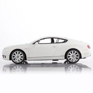 Rc Bentley Continental Gt Hvid - Fjernstyret Bil