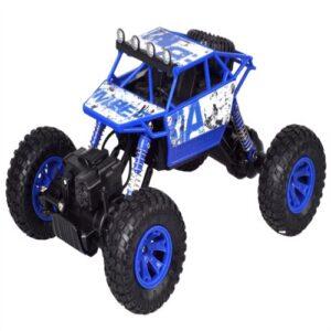 Rock Rover Fjernstyret 4Wd Crawler 1:18 24G Blå