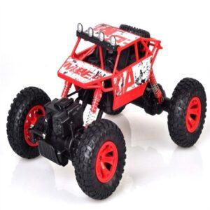 Rock Rover Fjernstyret 4Wd Crawler 1:18 24G Rød