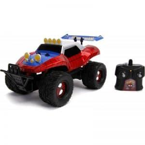 Spider-man - Fjernstyret Buggy Bil Til Børn - Rød