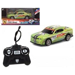 Cool Wing - Fjernstyret Bil Til Børn - Str. 1:24 - Grøn