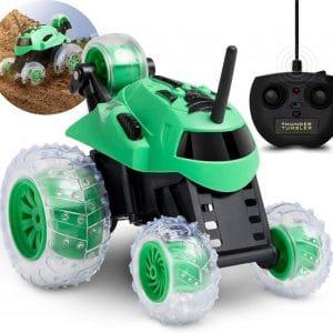 Sharper Image - Fjernstyret Bil - Mini Monster Spinning Car