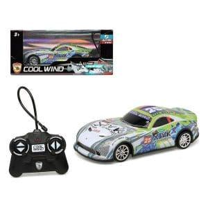 Cool Wing - Fjernstyret Bil Til Børn - Dodge Viper - Grøn