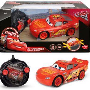 Disney's Cars 3 / Biler 3 Lynet Mcqueen Fjernstyret Bil Turbo Racer - 17 Cm