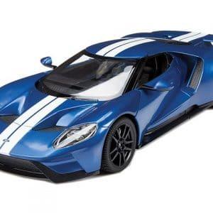 Rastar Ford Gt - 1/14 - Rc Fjernstyret Bil - Blå