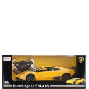 Rastar Lamborghini Murcielago Fjernstyret Legetøjsbil - Gul